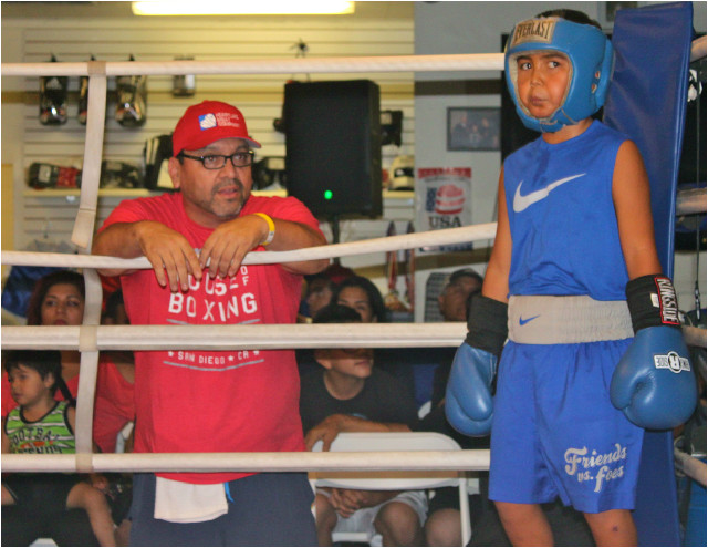 Before his boxer's bout against Jan Carlo Meza, Coach Carlos Barragan of the House of Boxing was quoted as saying he is so proud