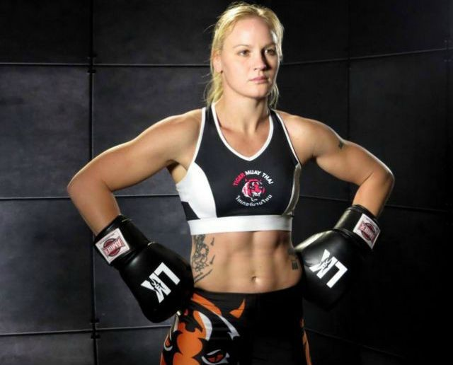 The 27-year-old, all everything fighter (Muay Thai, Boxing, MMA, etc.) Valentina Shevchenko is from Perú by way of Bishkek, Kyrgyzstan.