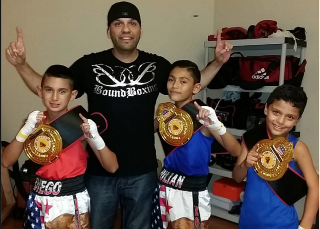 After their showing at the Friday Night Fights on Broadway, The Bound Boxing Academy owner and coach Juan Medina Jr. was beaming with joy after his entrants won all their matehes.
