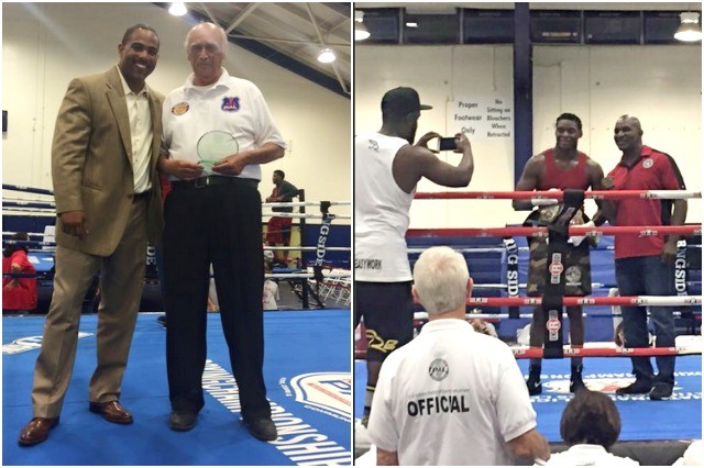 Two of the awards that received much attention, the top heavyweight and the top judge award which went to San Diego's Head of Officials Willie Kuhn.