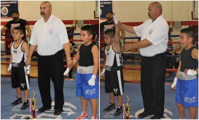 In the end it was Isaiah Bernal getting the nod from the judges after his defeat of the game Danny Hernandez.