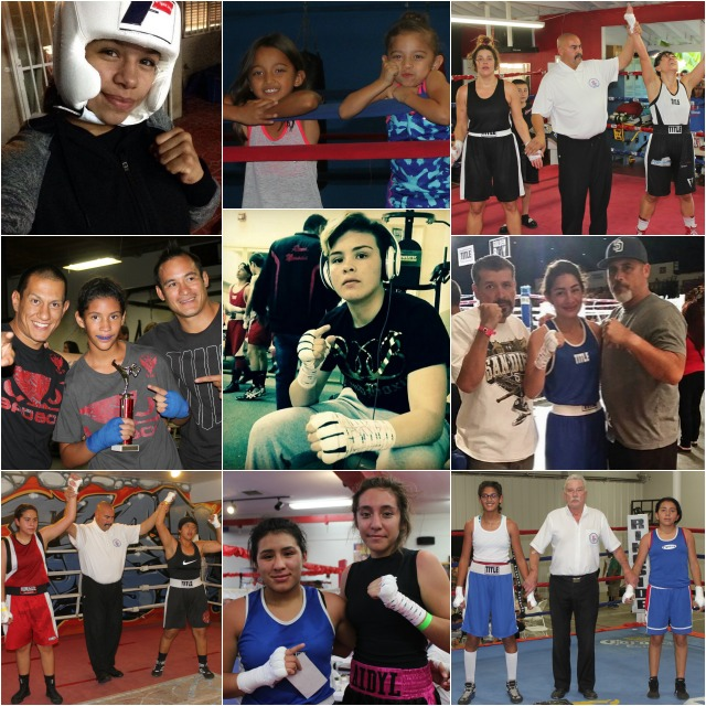 In the following collages you will see many of the up and coming starlets of boxing - some are only dreamers, others have clear cut paths laid, others have