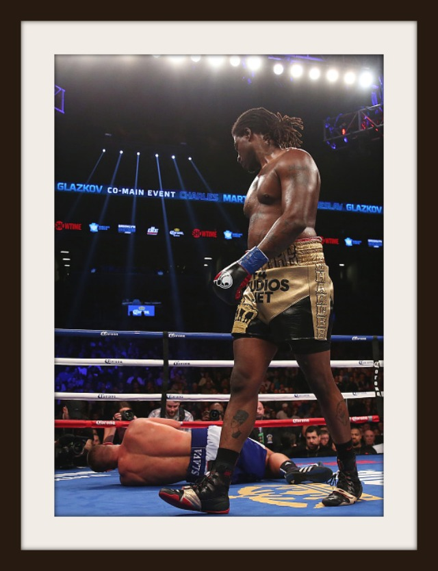 Charles martin looks down at the fallen