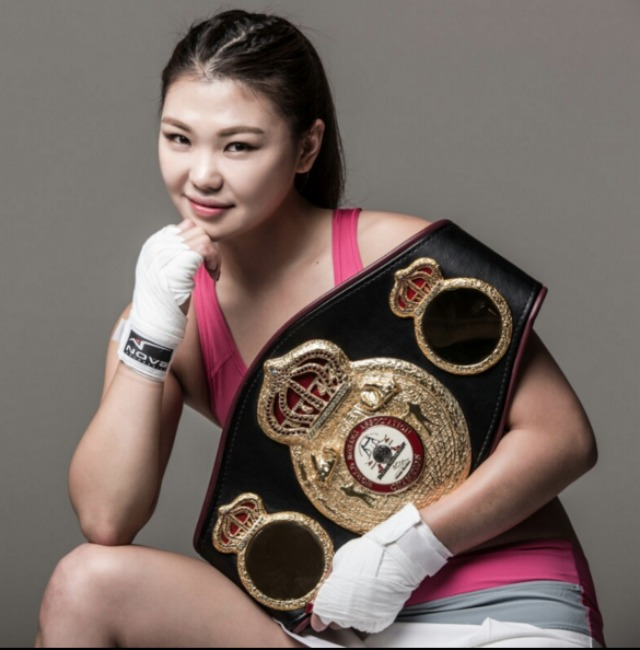 "640 super featherweight Hyun-Mi ""Defector Girl"" Choi"