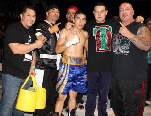 A photo from our archives shows Jose Toribio with his supporters after another win in Tijuana.