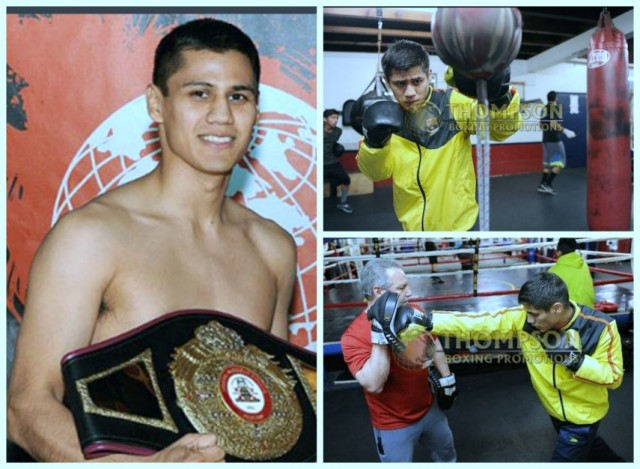 the 25 year-old Danny Roman (17-2-1, 5 KOs) makes the second defense of his WBA NABA Super Bantamweight Title on Friday night