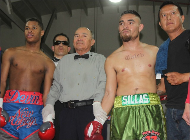 "Devin ""The Dream"" Haney, aka New Money (2-0) from Las Vegas, Nevada by way of Oakland, Calif., returned to El Perro Salado to face a veteran lightweight by the name of Jorge ""Metralletas"" Sillas"