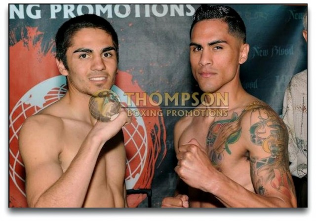 "Fernando Fuentes (6-6, 1 KO, 126.6 lbs.), a 21 year-old, super featherweight from Hemet, Calif., will be facing Jorge ""Tito"" Ruiz (9-2, 3 KOs, 127 lbs.) a 24 year-old from San Diego, Calif."