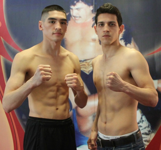 (l to r) 26 year-old Adam Fiel of Vacaville, Calif. and 23 year-old Alfredo Pitta of Tijuana, B. C., Mexico. Photo: Jim Wyatt