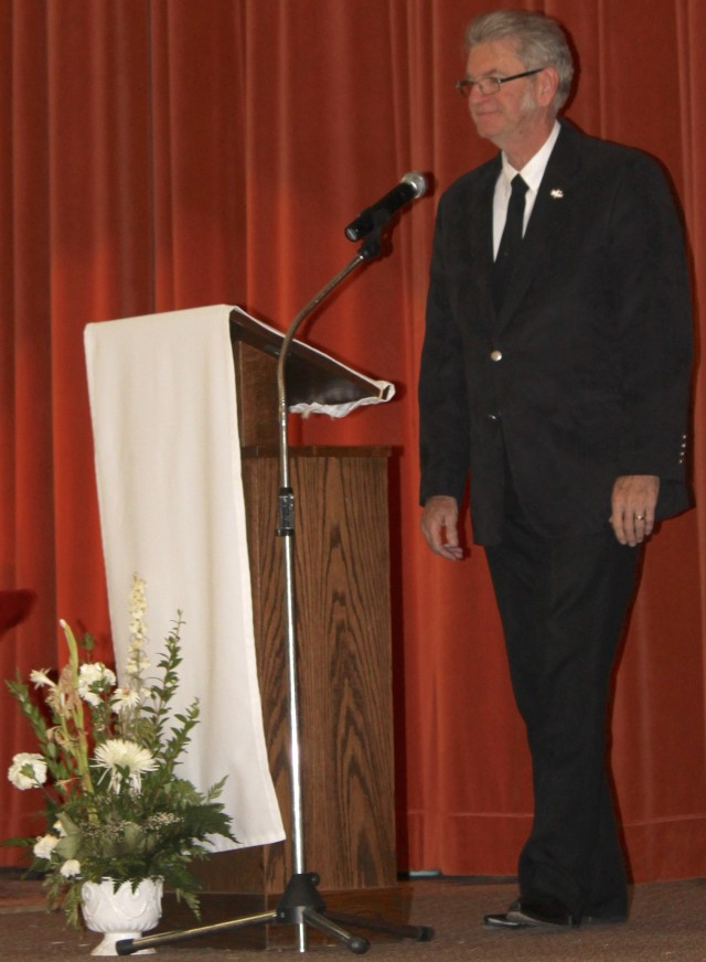 Acting as master of ceremonies was dear friend and pastor Tim Bales.