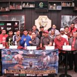 "On Tuesday afternoon, the Borizteca Boxing Management Group held their latest Press Conference at ""Cheers"" in Tijuana to preview their latest offering at the Salon Mezzanine on Friday night, May 13."