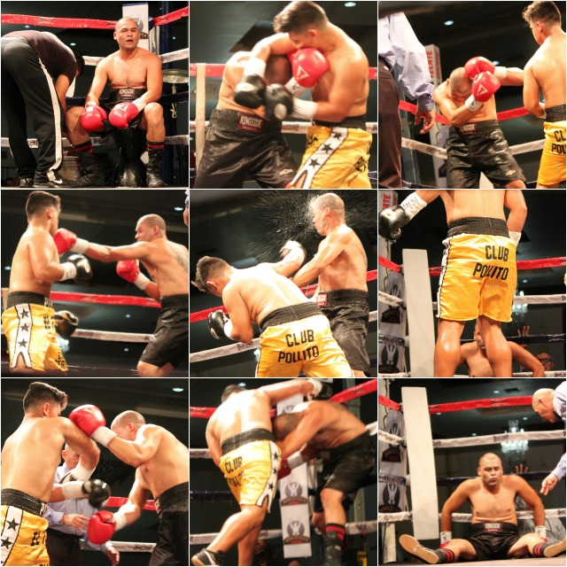 The Alfredo Ledezma versus Dario Cervantes was another free swinging, non-stop battle.