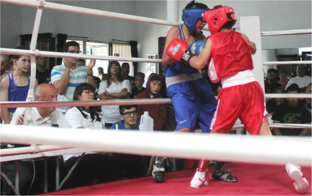 With both youngsters being such high-profile boxers, all eyes were glued on this match.