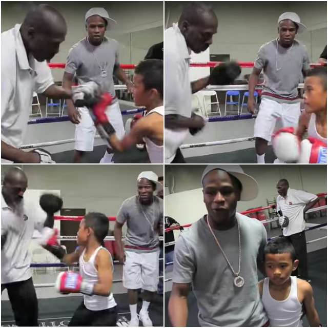Even at the tender age of seven, Floyd Mayweather Jr. and his uncle Roger Mayweather knew they had a special talent
