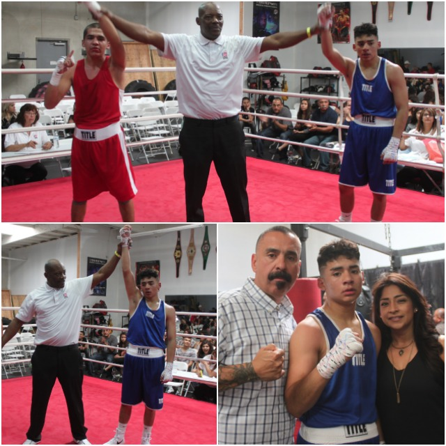 In Bout #22 it was Adrian Corona coming away with the big win over Rene Martinez from the Baja Boxing Club of