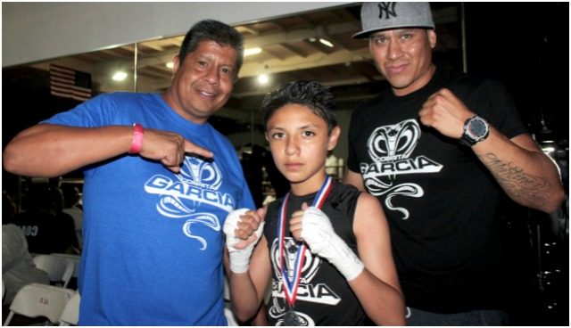 At the conclusion of his battle with Jan Carlo Meza, Mario Garcia,