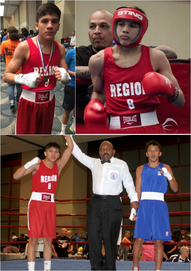 Light flyweight Jesse Rodriguez (San Antonio, Texas) ended his week with a victory over Asa Stevens (Waianae, Hawaii) in their opening bout on Saturday.
