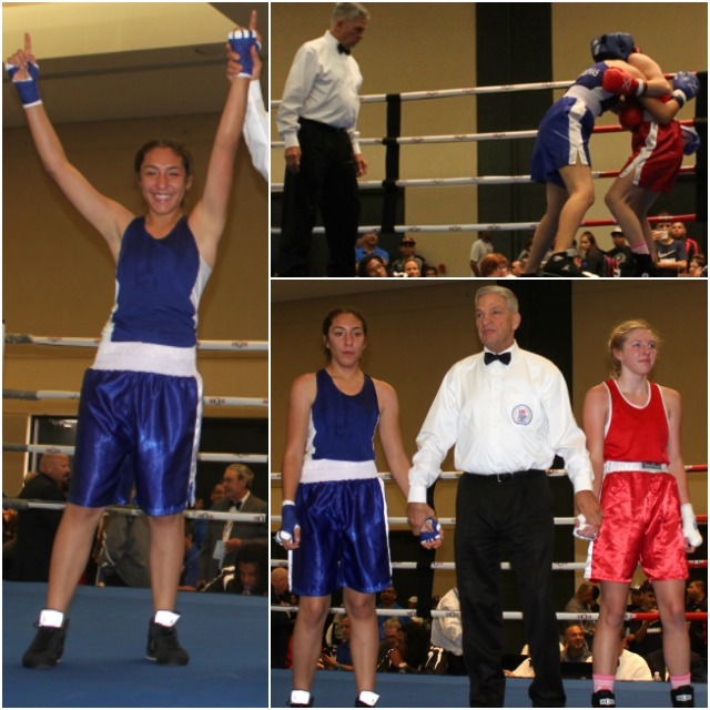 Junior female/138 lbs: Aidyl Cardenas, Calexico, Calif., won by a unanimous decision over Jordyn Helgert, Allegheny, Pa.