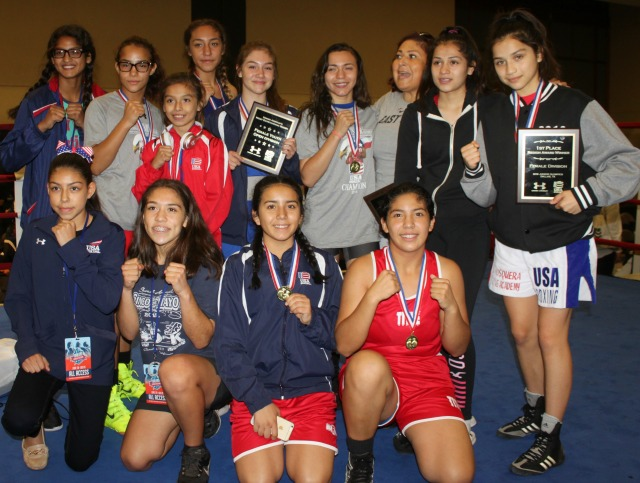 Region 14 of USA Amateur Boxing which includes Los Angeles and Imperial Counties San Diego nad