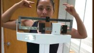 """On Saturday, Ibeth """"La Roca"""" Zamora Silva easily passed her seven day weigh in requirement, tipping the scales at 51.300 KG (113 pounds)."""