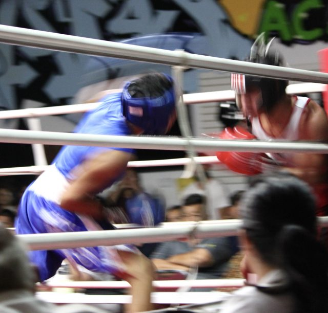"""Here is """"the punch"""" of the show. It was delivered by Mario Ramos with such force it had to affect the outcome of the match."""