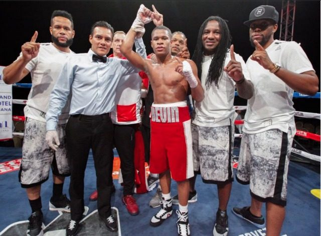 Five times Kevin Haney and his entourage came to Tijuana to do battle and as result earned himself five wins.