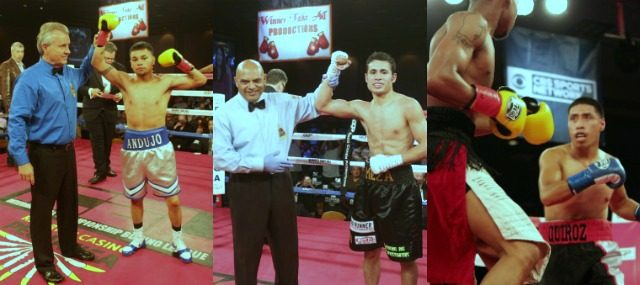 header of three local fighters