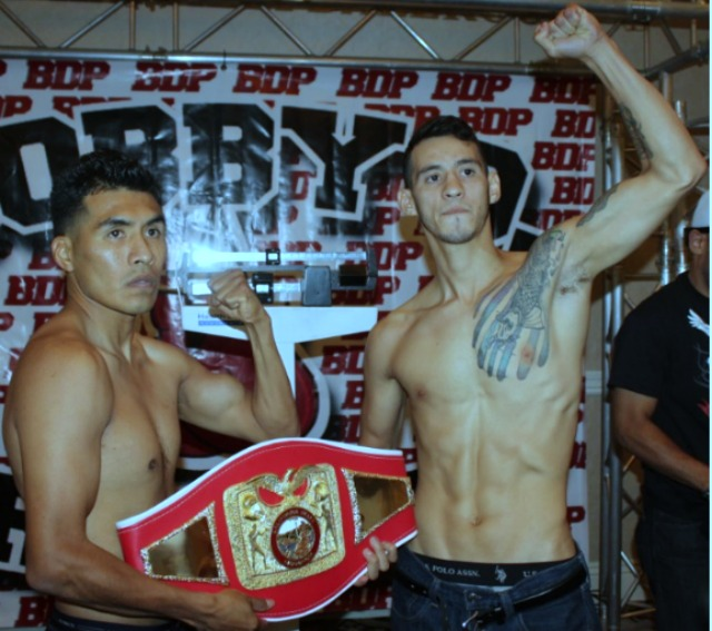 Ramirez came to San Diego's Crowne Plaza on July 25, 2014, on a Bobby D Presents fight card. He ended up stopping San Diego's Aaron Garcia with a fourth-round TKO to win the vacant USA California State Super Featherweight title.