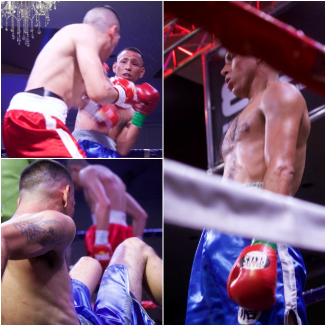 For a moment there it appeared that the Adam Fiel versus Edgar Daniel Ahumada fight would end early.