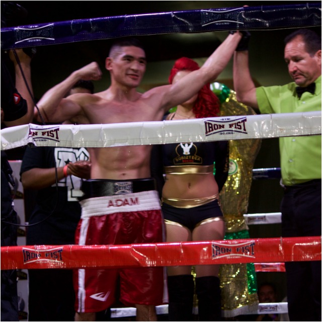 In the end, it was Adam Fiel earning his 10th victory without a single defeat.