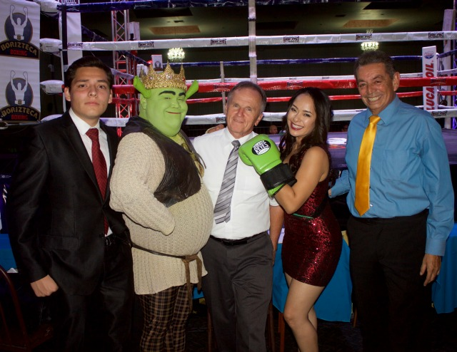 When notice was given that Shrek would attend Friday's show, the attendance set