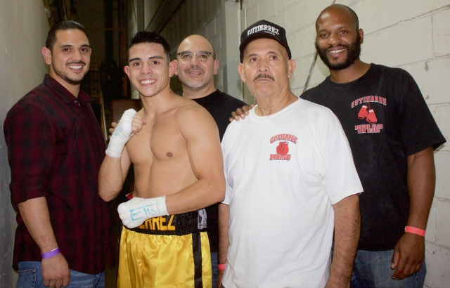 Before leaving the building we had the Gutierrez family pose for one last photo. Grandfather, father and two brothers