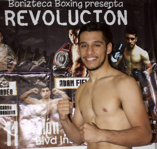 Welterweight Elias Diaz of Chula Vista (1-0) Bout #4